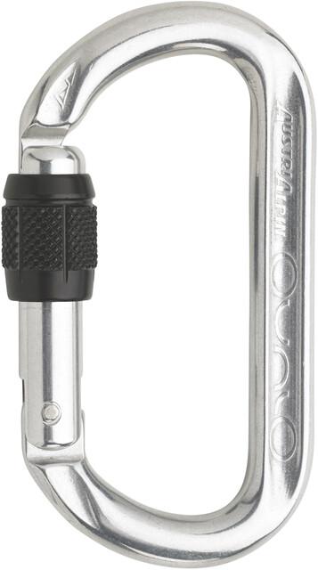 Klettergurt Campz : Austrialpin ovalo screwgate carabiner polished campz